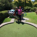 Jess, Mel mini golf